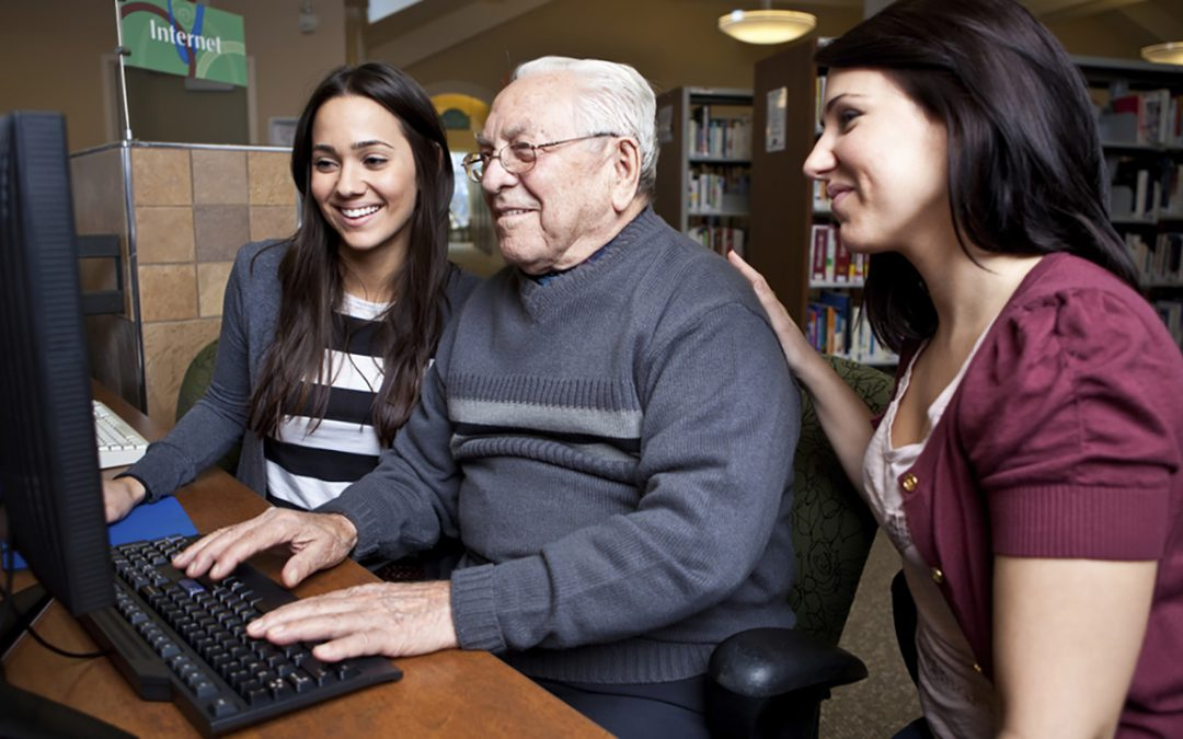 Helping Seniors Get Online